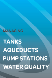 managing tanks aqueducts pump stations water quality